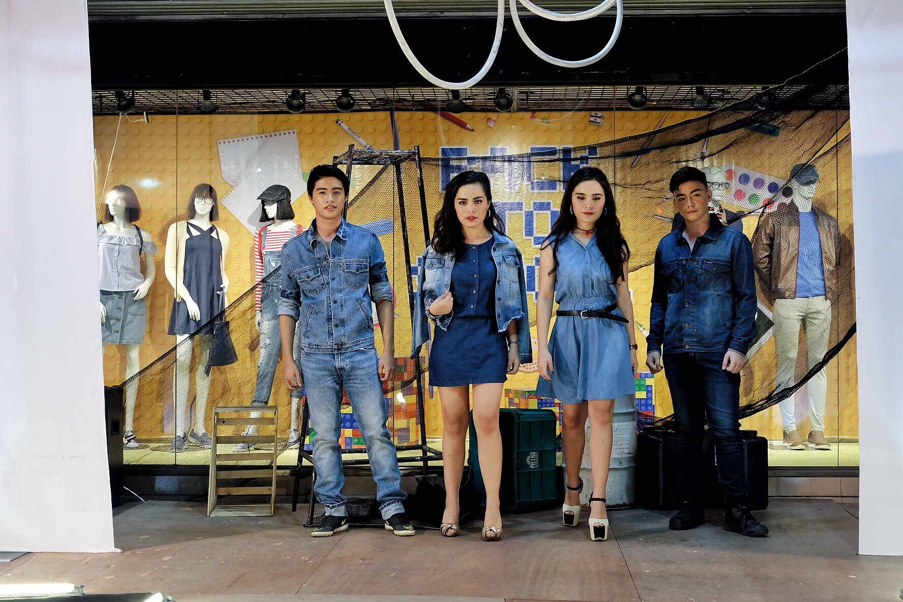 The Metro Stores Denim Party Fashion Show - iamkimcharlie06