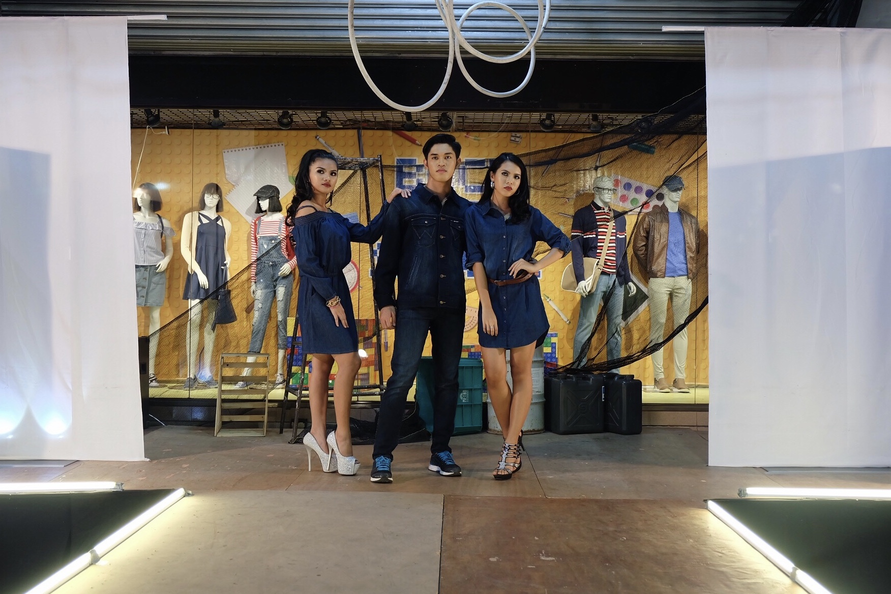The Metro Stores Denim Party Fashion Show - iamkimcharlie07