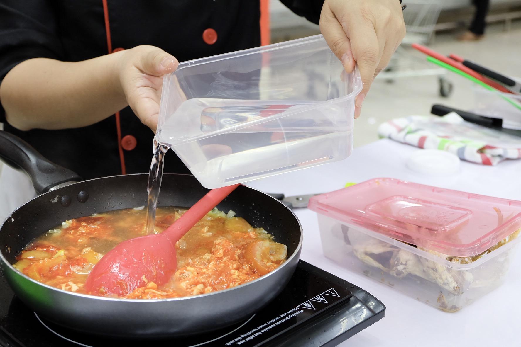 iamkimcharlie ufc cookfest 03